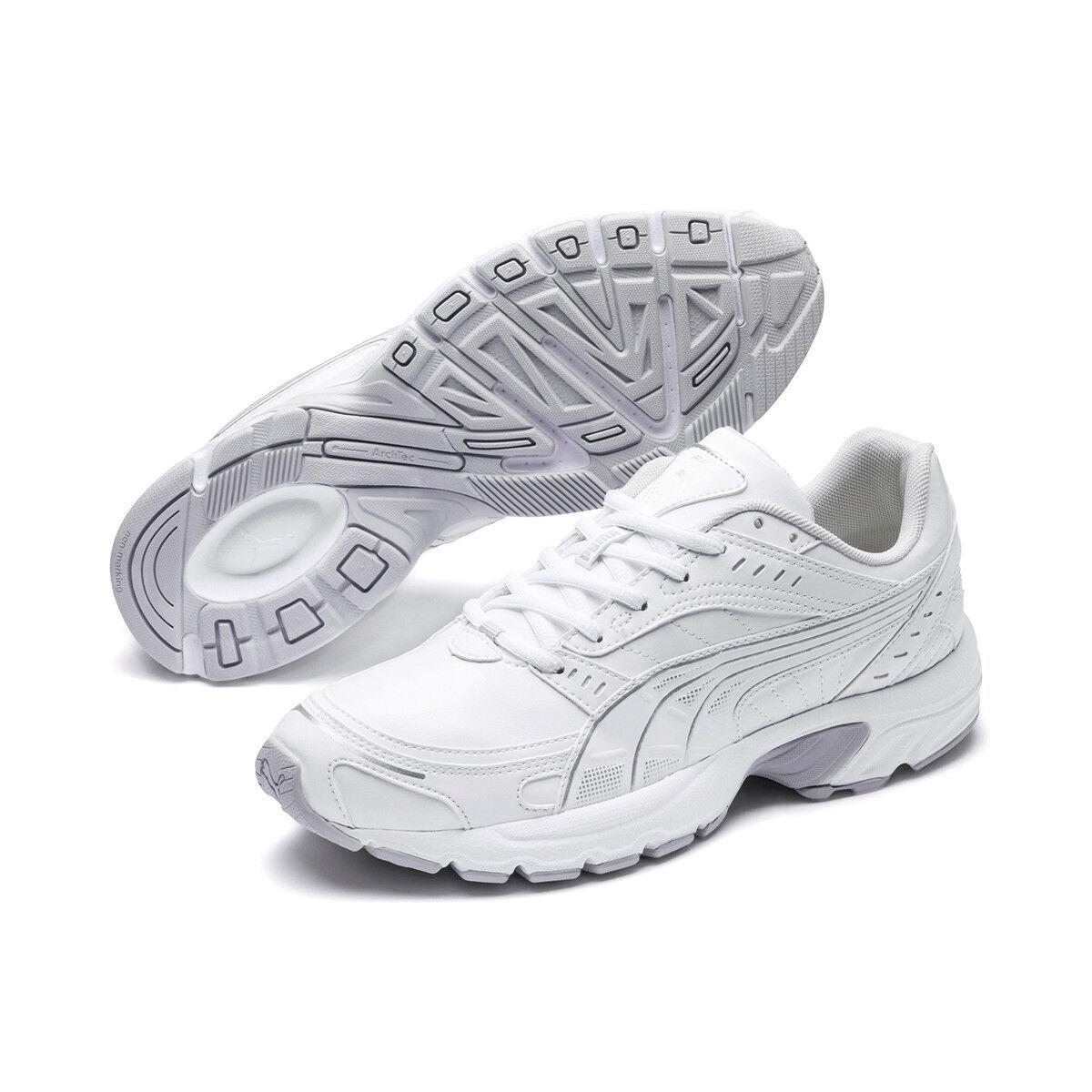 PUMA Axis SL Uomo scarpe da ginnastica Scarpe Bianche 368466 01 | Diversi stili e stili  | Scolaro/Signora Scarpa
