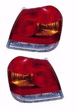 2003 2004 2005 TOYOTA ECHO COUPE/SEDAN TAIL LAMP LIGHT LEFT AND RIGHT PAIR SET