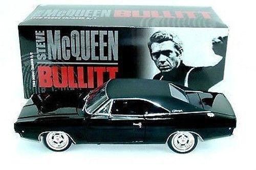 1 18 Greenlight 1968 DODGE CHARGER Steve McQueen BULLITT