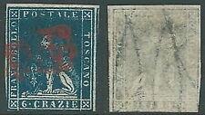 1857 TOSCANA USATO MARZOCCO 6 CR - A123