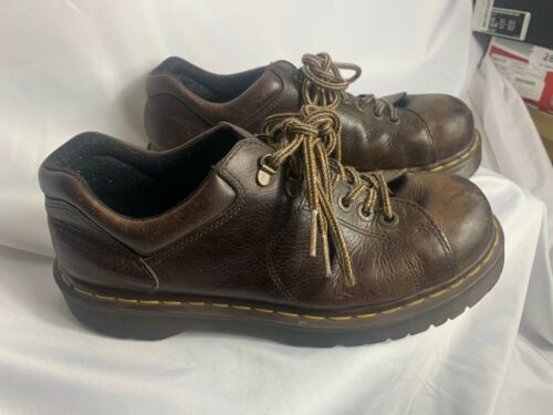 Mens Doc Martins 8312 Leather Shoes Size 10