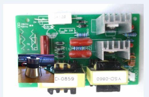 1pcs 50W 40K transducer+AC220V Rectangle Ultrasonic Cleaner Power Driver Board