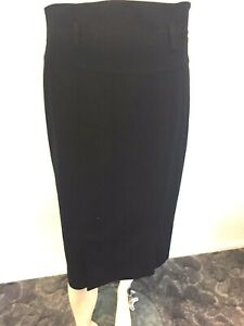 Cue-straight-black-skirt-size-10-Women-039-s-Office-Causal-Cocktail