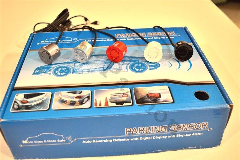 KIT 4 PARKING SENSORS SHIELD CAR FIAT QUBO FIORINO SHIELD SENSORS DUCATO DOBLò 5 COLOURS 4cf09c