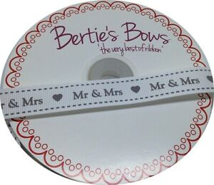Berties Bows Ruban argenté 3 mm x 2 m.