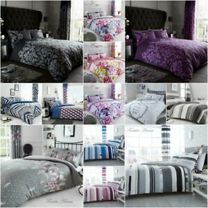 Bedding-Set-With-Duvet-Cover-Pillow-Cases-Quilt-Cover-Set-Single-Double-King