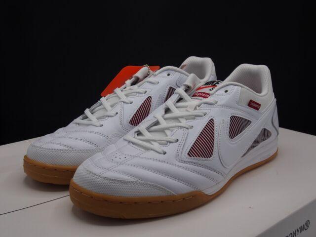 8df8ba10e41 Supreme Nike SB Gato White Size 10.5 Fw18 for sale online