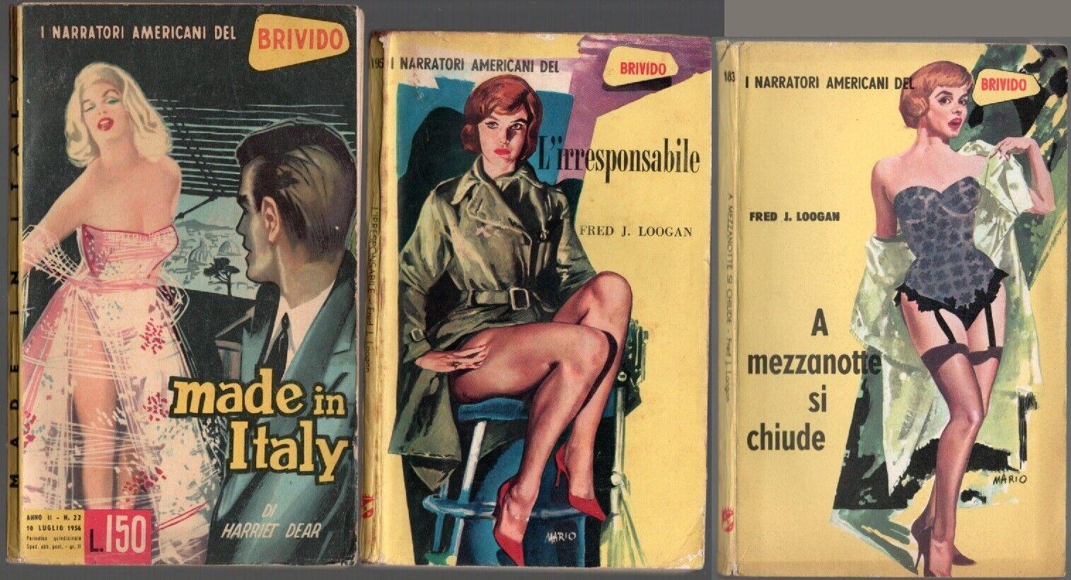 I gialli del secolo n° 76, 1953: Sbarco clandestino + n° 185, 1955: La regina in pericolo