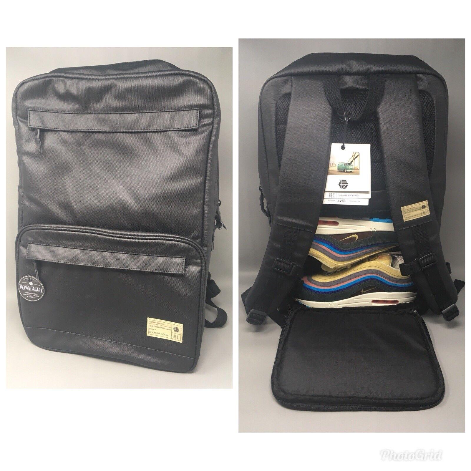 COMME DES FUCKDOWN Backpack Bag Hipster Streetwear School College BLACK NAVY