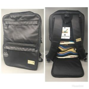 060fec2268 Details about Hex Calibre Black Sneaker Backpack Streetwear New With Tags