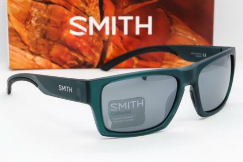 New Smith Outlier 2 Sunglasses Matte Crystal Forest frame Platinum Mirror lens