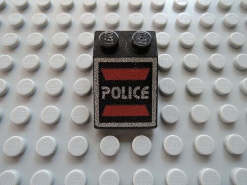 Space Police I 6986 6955 6781 Lego 1 x Schrägstein 3298p53 3x2  schwarz bedr