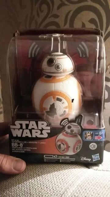BB8 -Star Wars IP Class I Lead BB8 Rip N Go toy bnib
