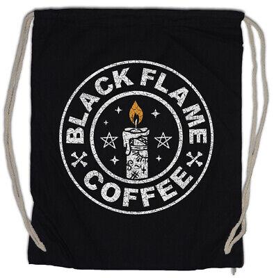 Onestà Black Flame Coffee Turn Bustina Caffeina Magic Strega Halloween Fun Caffè-