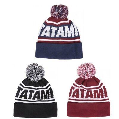 Tatami Navy /& Maroon Bobble Hat BJJ MMA