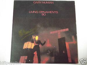 """GARY NUMAN """"LIVING ORNAMENTS '80"""" VINILE LP UK - Italia - L'oggetto può essere restituito - Italia"""
