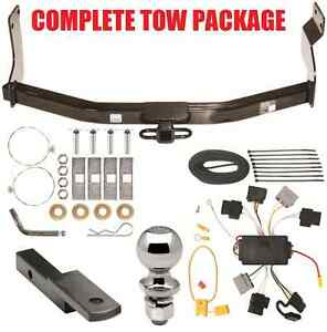 2005 2007 ford escape trailer hitch wiring harness kit ballmount rh ebay com 2012 ford escape trailer hitch wiring harness 2014 ford escape trailer hitch wiring harness
