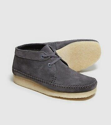 Wallabees Weaver Boots , Charcoal Suede