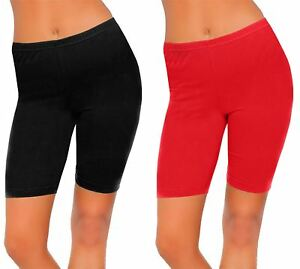 New Ladies Fancy 1 2 Short Sports Legging Womens Comfortable Gym ... a64fd3f69d5