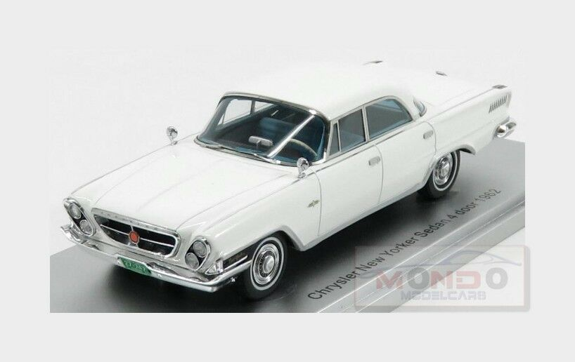 Chrysler New New New Yorker Sedan 4-Door 1962 blanc KESS-MODEL 1 43 KE43032021 3b1253