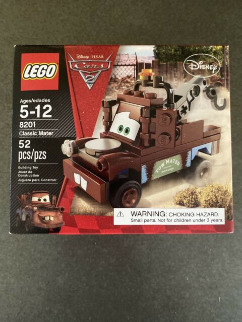 Lego Cars 2 Disney 8201 Classic Tow Mater 8638 8424 Holley W Instructions For Sale Online Ebay
