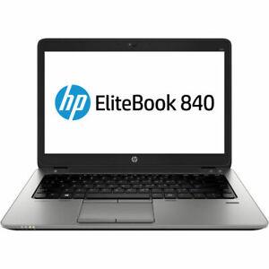 HP-Elitebook-840-G1-Ultrabook-Intel-i5-4300u-8GB-Ram-120GB-SSD-Windows-10-Pro