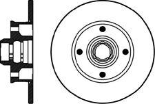 NEW MINTEX BRAKEBOX REAR BRAKE DISC /& PADS KIT SET MDK0039
