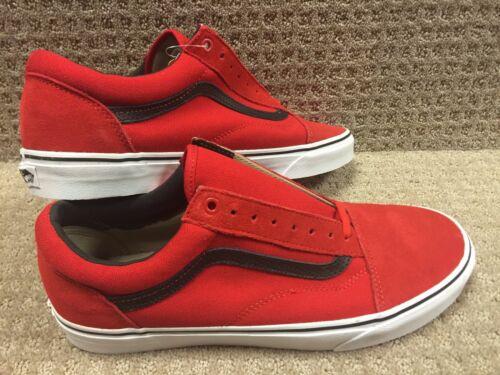 Skool Vans Hombre C negro Racing P Zapatos Old Rojo pq1qw4