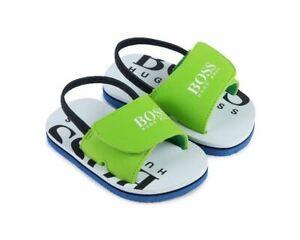Hugo Boss J09123 730 Baby's Sandals Sea