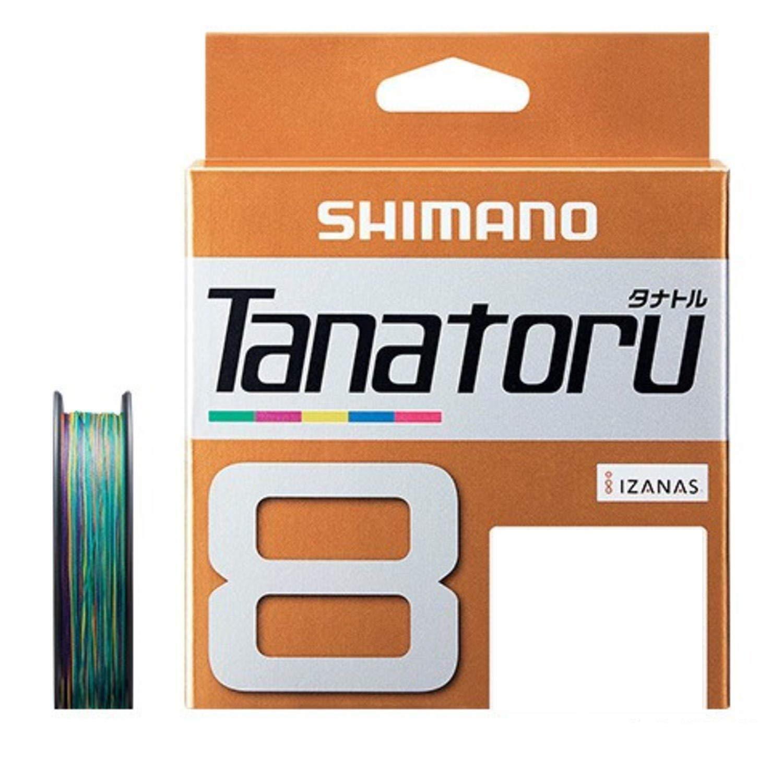 NEW Shimano Tanatoru X8 Multicolor 300m 67.8lbs 30.7kg Braided PE Line JPN