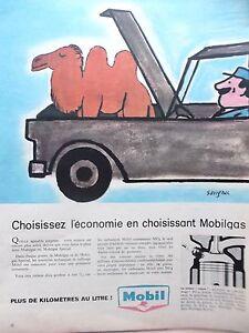 Advertising-Press-Mobilgas-Of-Mobil-By-Savignac-IN-1958-Ref-2150