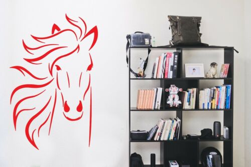 WALL STICKERS ADESIVI MURALI CAVALLO HORSE decorazione home animali animal