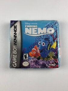 Disney Pixar Finding Nemo Nintendo Gameboy Advance GBA Game New in Box NIB