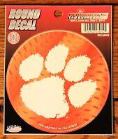 "3.5"" NCAA Clemson University Tigers Decal Car Window Sticker College Dorm"