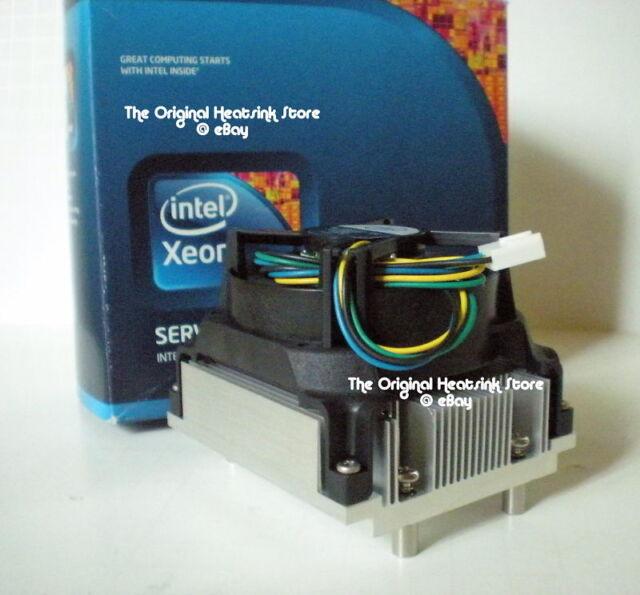 Intel Xeon Cpu Cooler Disipador térmico y ventilador para Quad Core 54xx Cpu Socket J Lga771 Nuevo