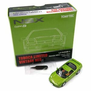 LV-N228B HONDA NSX YELLOW GREEN  TOMYTEC    4543736313045