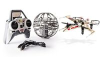 Star Wars Air Hogs X-wing Vs Death Star Rebel Assault Remote Control Drone