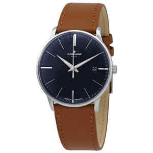Junghans Meister Mega Radio-controlled Movement Blue Dial Men's Watch