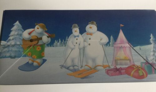 2 x Snowman and Snow dog CHRISTMAS CUPCAKE Boxes holds Six TREATS SWEETS GOODIES