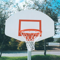 White Powder-coated Aluminum Backboard on sale