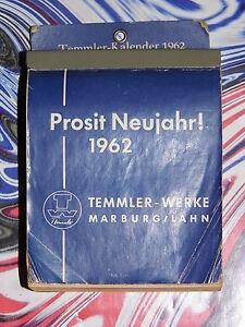 59.Geburtstag (3x) orig. Kalenderblatt Juli - August 1962 -Geschenk Hochzeitstag