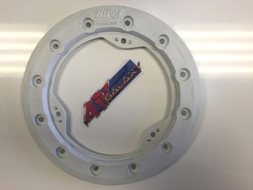 "Hiper 10/"" Modified Bead Lock Ring Wheel Ring CF1//Tech 3 White Beadlock Mud Plug"