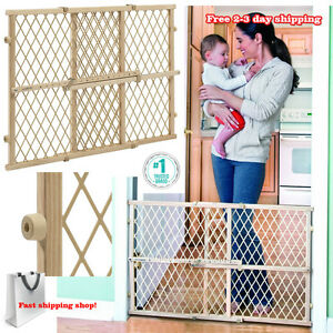 Image Is Loading Evenflo Baby Gate Safety Fence Child Protection Wood