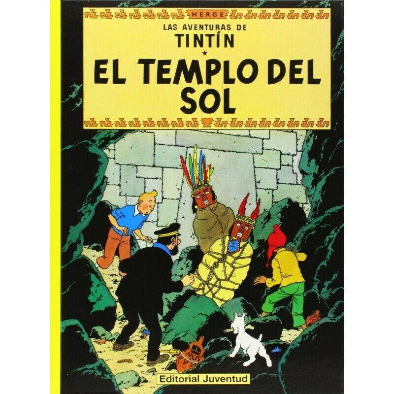 Album The Adventures of Tintin T14 - Prisoners of the Sun Spanish