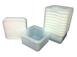 2-4-LTR-FOOD-GRADE-TUBS-SANDWICH-ICE-CREAM-STORAGE-Plastic-Containers-X-25