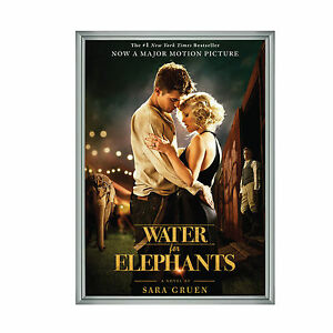Movie Poster Frame Silver 30 X 40 Inch Front Opening