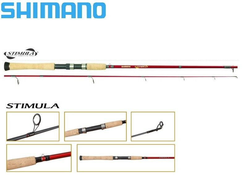 Shimano Stimula 2 Pièces Spinning Canne Rapide Acción 7ft M Puissance