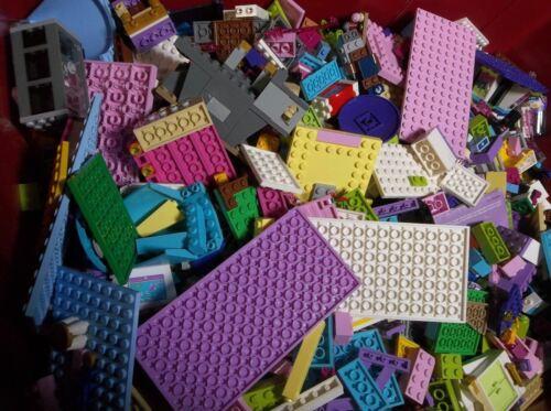 Lego Friends 1-99 Pounds Parts Pieces HUGE BULK LOT Bricks Blocks Pink Blue