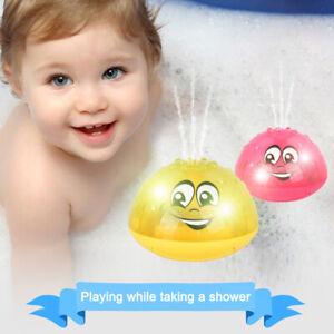 Baby-Elektrische-Induktions-Sprinklerlampe-Baby-Badespielzeug-Wasserspielzeug