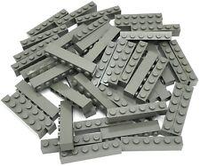 Lego 50 New White 1 x 6 Dot Bricks Building Blocks Pieces
